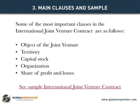 Letter Of Intent Venture Capital International Joint Venture Contract Contract Template