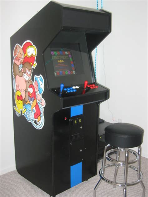 Mame Cabinet Side by Custom Mame Cabinet