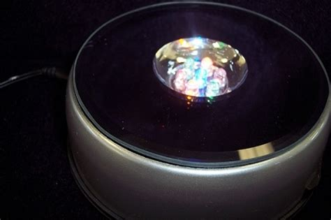multi colored strobe light strobe light revolving table strictly minerals com