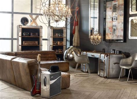 industrial chic living room living room vintage industrial style industrial style