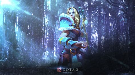 dota 2 rylai wallpaper rylai the crystal maiden dota 2 by neonkiler99 on