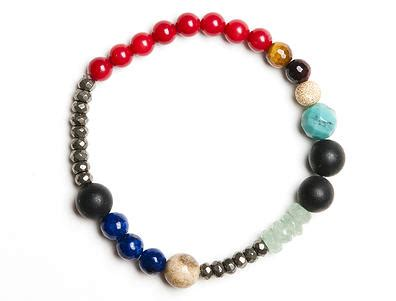 want a colorful beaded bracelet whose proceeds go to
