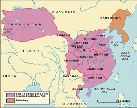 tang dynasty map world ad 600 700 history forum all empires page 3