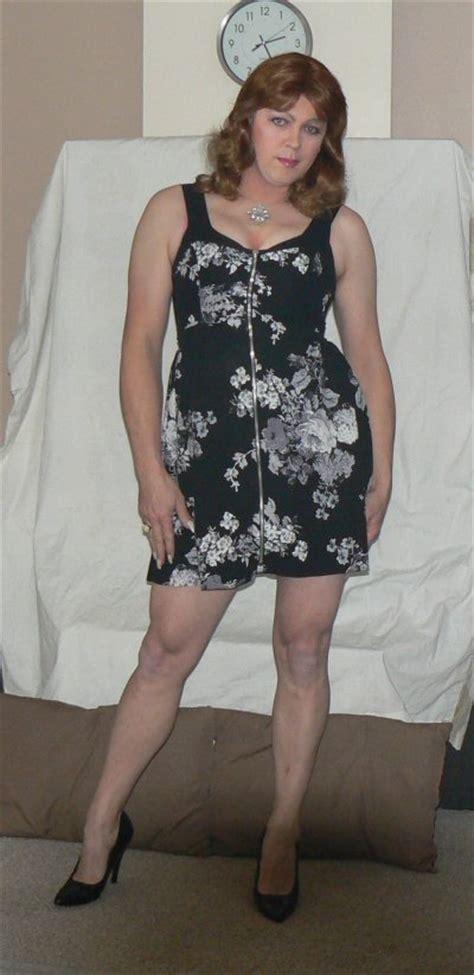 crossdressers dresses flickr busty dress crossdresser diane mccrae flickr