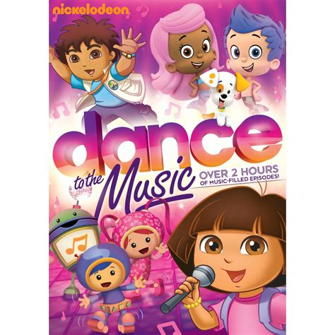 dance to the music nickelodeon favorites dance to the music available on dvd today