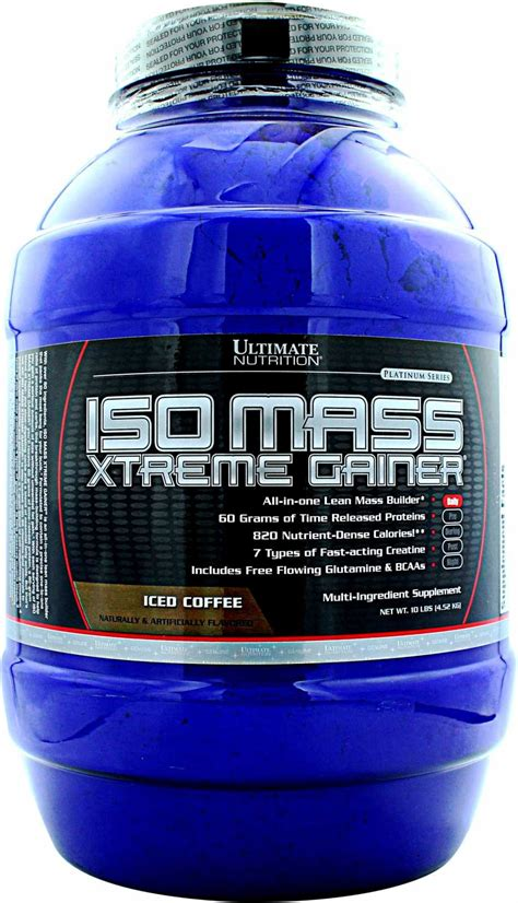 Isomass Xtreme Gainer Ultimate Nutrition Iso Mass Xtreme Gainer Photo Gallery At
