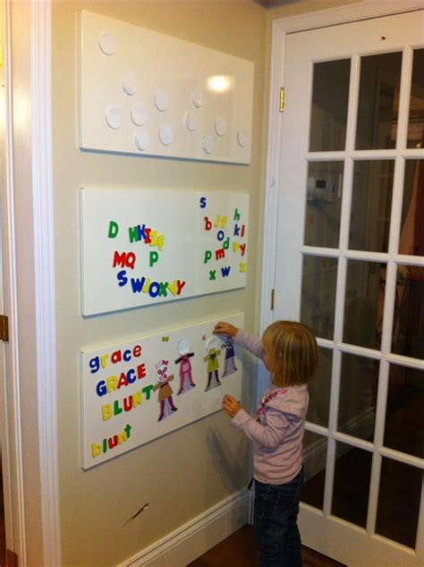 magnetic boards for rooms magnet wall ikea boards playroom ideas organization to work planes and magnets