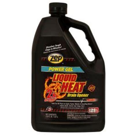 zep 128 oz liquid heat gel drain opener of 4