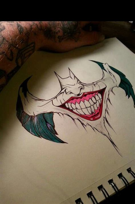 batman doll tattoo best 25 joker sketch ideas on pinterest joker drawings