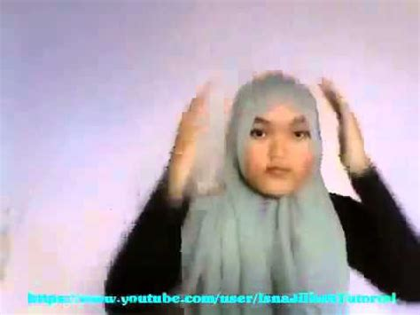 youtube tutorial hijab segitiga tutorial hijab fatin shidqia lubis trend paris segitiga