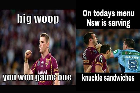 Queensland Memes - vote for your fave meme in our state of origin meme off