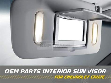 Oem Chevy Interior Parts by Oem Interior Sun Visor Shade Lh Gray For Chevrolet