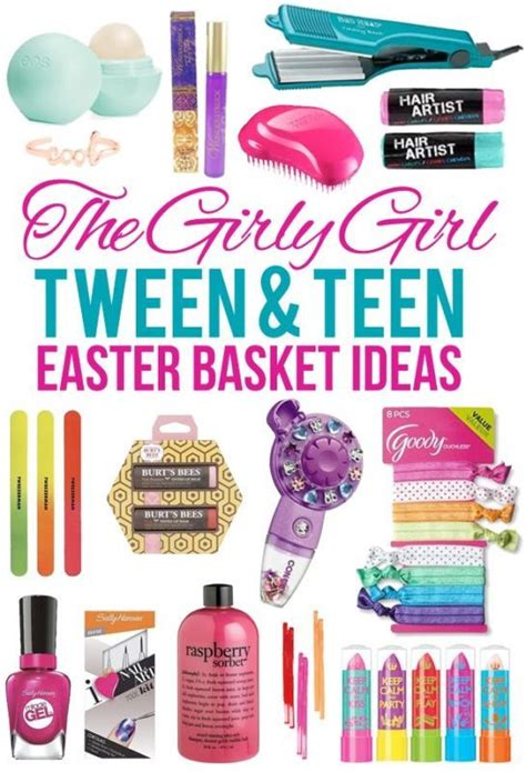 small gift ideas for tween teen girls basket ideas