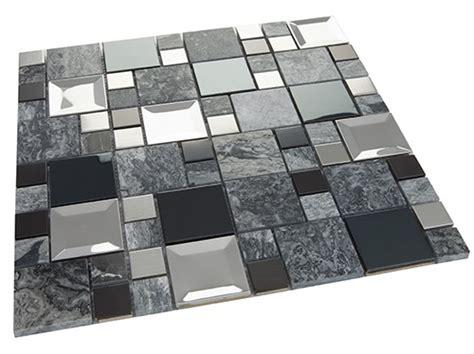 Kaos Metal No 47 kaos grey mosaik med b 229 de metall och stenf 228 lt