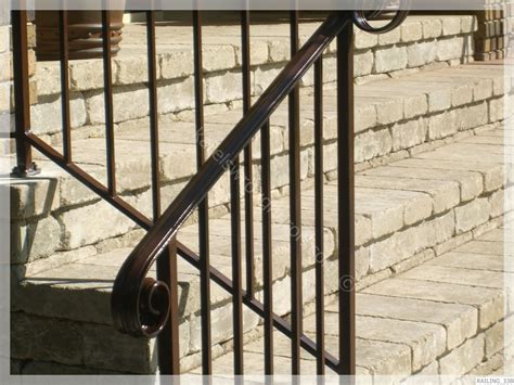 Wrought Iron Handrail Wrought Iron Railing Railing 338 Jpg