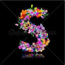 Paper Mache Flowers - images of letter s with flowers www imgarcade com