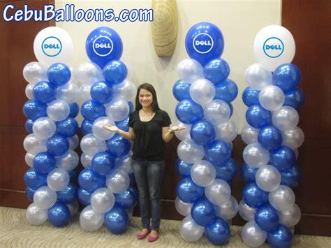 Dell balloon pillars cebu balloons and party supplies