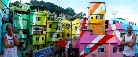 a pattern image urhahn favela painting giving pride to brazil s poor