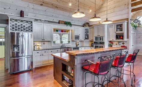 country kitchen with island 26 gorgeous white country kitchens pictures designing idea