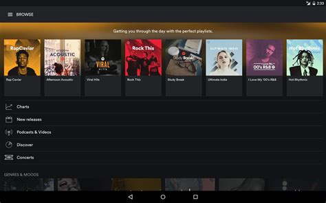 spotify mobile player spotify premium apk free audio app