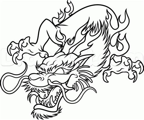 learn how to draw a dragon tattoo tattoos step by step how to draw dragon easy pencil drawing collection
