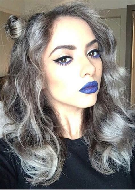 hairstyles  silver highlights highlights steal