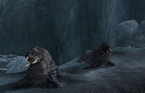 Horker (Skyrim) - Elder Scrolls - Wikia Giant Sea Monster Skyrim