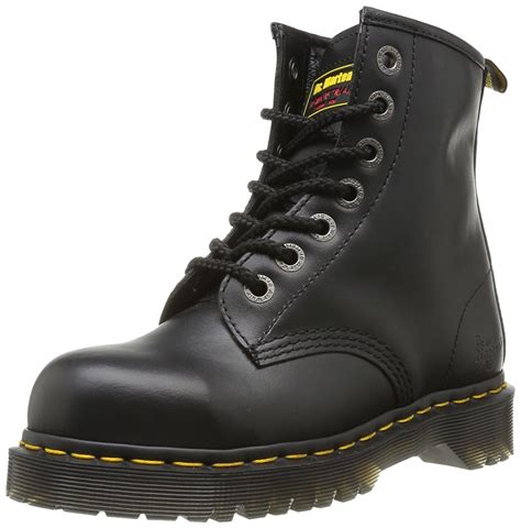 Drfaris Treking Safety Shoes dr martens dr martens s icon holkham st safety boots shoes doc martens boots black dr