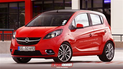 opel vauxhall 2015 opel karl vauxhall viva rendered autoevolution