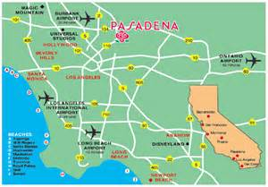 map of pasadena california go smell the pasadena tournament of roses parade go