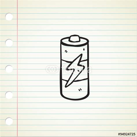doodle 3 battery quot doodle battery quot stock image and royalty free vector files