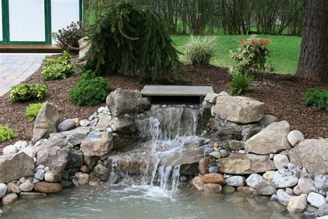 backyard waterfall landscape ideas » Backyard