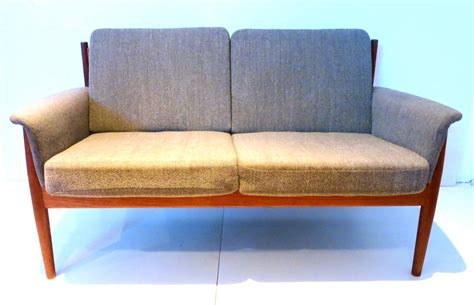 teak loveseat danish modern teak loveseat designed by grete jalk for