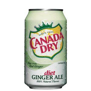 Can Diet Ginger Ale   AH Inc