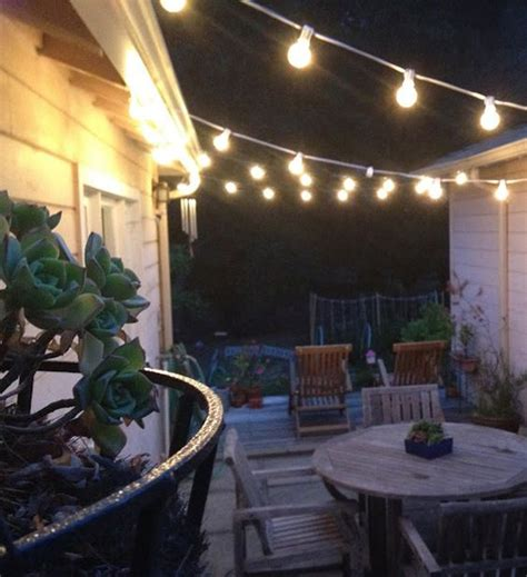 20 Wonderful String Lights For Your Outdoor Patio Outdoor String Patio Lighting