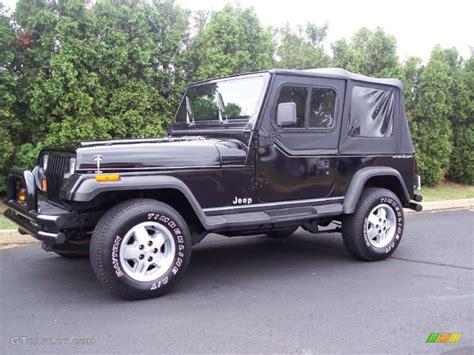 1995 Jeep Se 1995 Black Jeep Wrangler Se 4x4 35354177 Gtcarlot
