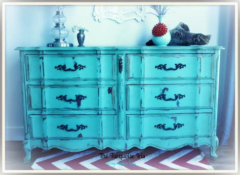 mint green dresser the turquoise iris furniture art french provincial