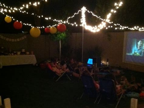 backyard night triyae com nighttime backyard party ideas various