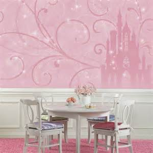Princess Castle Wall Mural Disney Princess Scroll Castle Prepasted Wall Mural