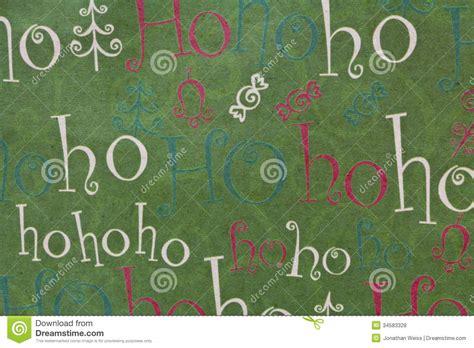 christmas ho ho ho background horizontal stock photo image