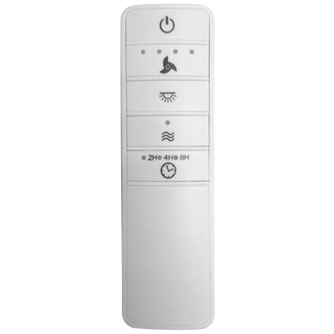 universal ceiling fan remote hton bay universal wink enabled white ceiling fan