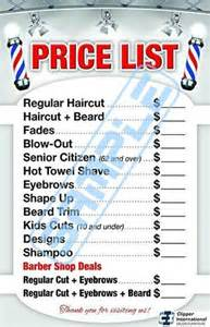 haircut price list barber shop price list barber poster barber shop poster