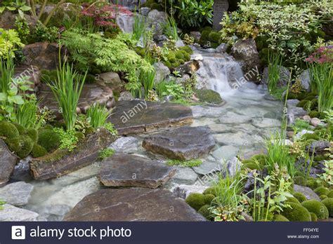 Edo Garden by Edo No Niwa Edo Garden Japanese Garden With Waterfall