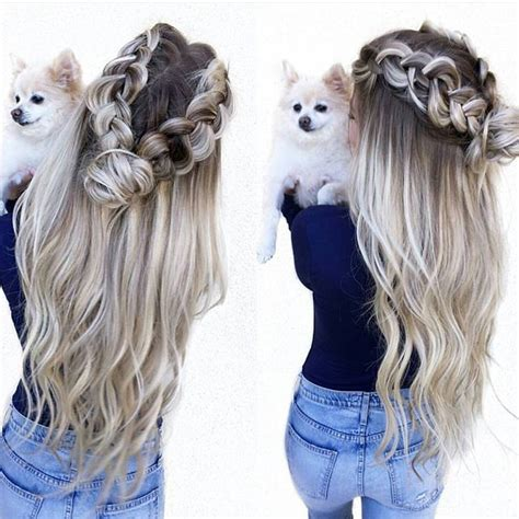 cute braided hairstyles for wet hair inspirational cute 281 best pretty hairstyles for girls images on pinterest