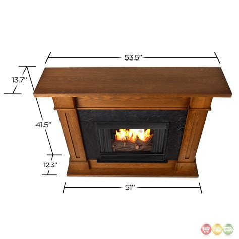 Ventless Fireplace Fuel by Kipling Ventless Gel Fuel Fireplace In Burnished Oak With