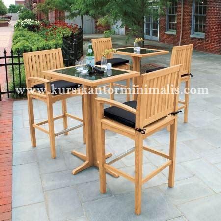 Satu Set Meja Kursi Teras Bisa Untuk Ruang Tamu Jati Jepara kursi cafe minimalis jual kursi kantor putar jati ukir minimalis jual kursi kantor putar