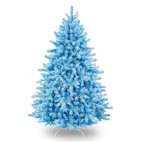 blue artificial christmas tree decoration quecasita