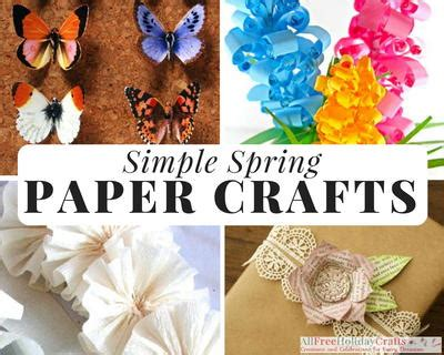paper crafts for seniors 32 simple paper crafts allfreeholidaycrafts