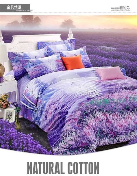 lavender bed sheets purple bedding set lavender king size queen quilt doona