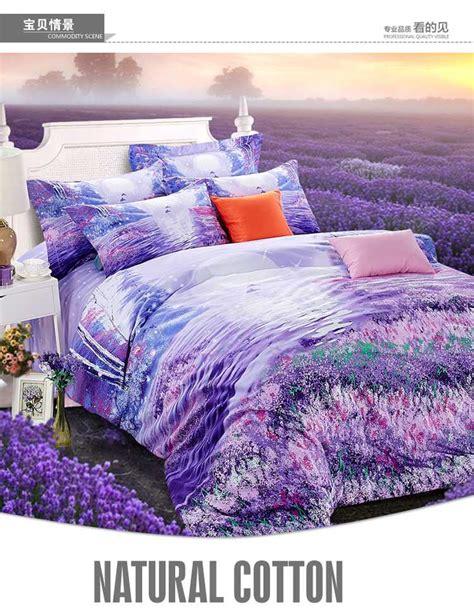 Purple Size Comforter by Purple Bedding Set Lavender King Size Quilt Doona